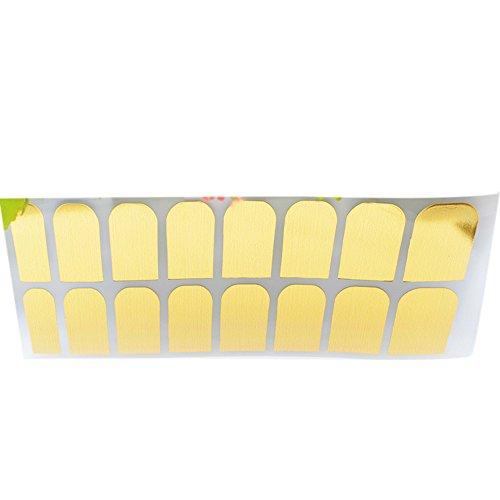 Einfarbiger Nagelaufkleber, Selbstklebende Nagelfolien als einfache & zeitsparende Alternative für Nagellack ,Nagelaufkleber | Nail Sticker | Folie