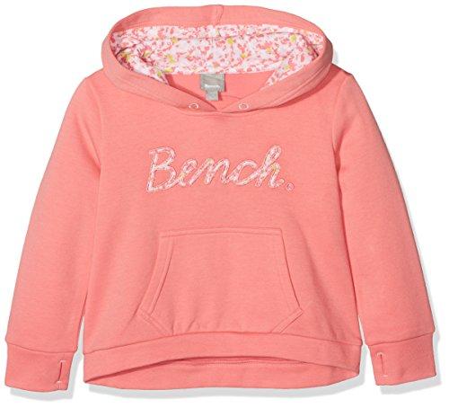 Bench Bench Mädchen Kapuzenpullover Script Hoody Rosa (Strawberry Pink Pk11480) 152 (Herstellergröße: 11-12)