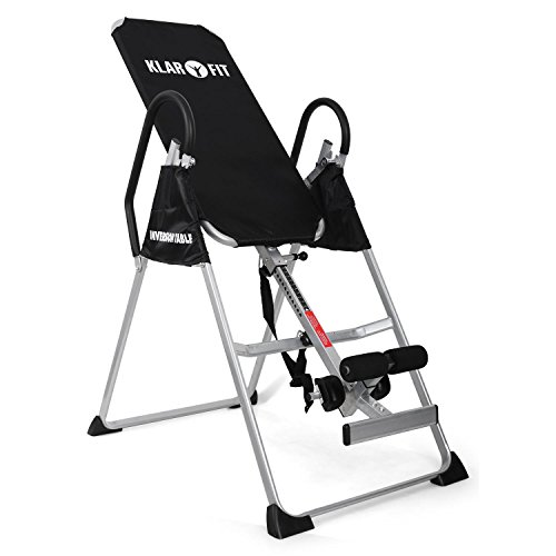 Klarfit Relax Zone Basic tabla de inversión (135 kg de peso máximo, ajustable en 20 niveles, para personas hasta 198...