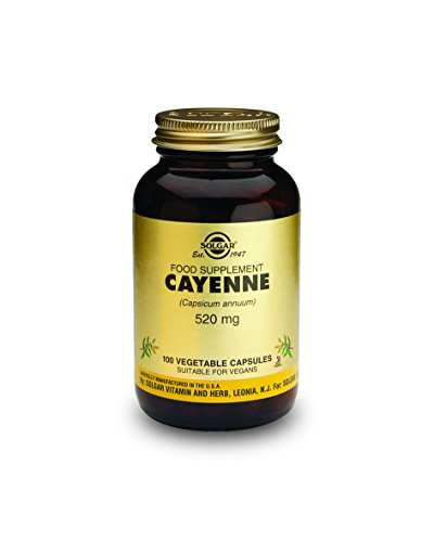 CAYENNE 520mg 100 CAP.