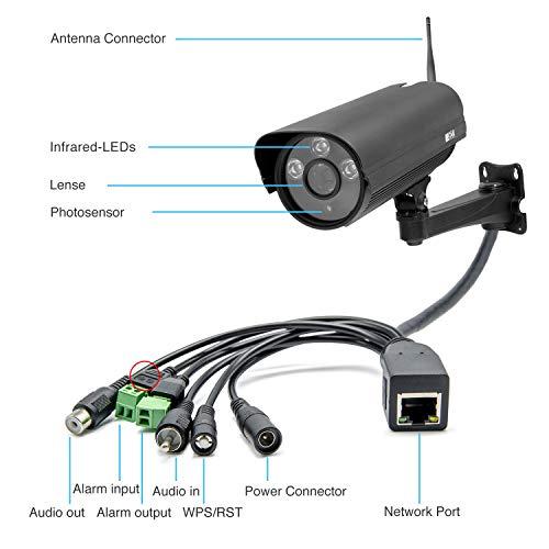 INSTAR IN-5907HD Wlan IP Kamera  – HD Sicherheitskamera für Außen - 2