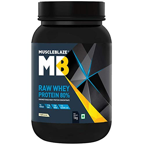 Raw Whey Protein (Unflavoured, 1 kg)