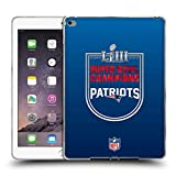 Head Case Designs Offizielle NFL New England Patriots 2019 Super Bowl LIII Champions Soft Gel Hülle für iPad Air 2 (2014)