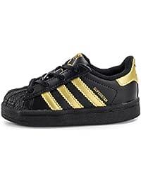 Zapatillas adidas – Superstar I negro/dorado/dorado