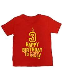 IiE, Boy's T-shirt, Happy 3rd Birthday to Me!