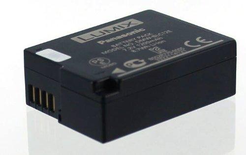 kku LUMIX DMC-FZ1000|-G5|-G5X|-G6AF ersetzt Akkutyp DMW-BLC12E ()