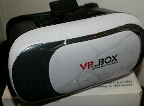 """3D-VR-Brille, YSSHUI 3D-VR-Box II Headset mit Bluetooth-Fernbedienung Virtual Reality Handy 3D-Filme für iPhone 6s / 6 Plus Samsung Galaxy s5 / s6 / Hinweis4 / Hinweis5 und andere 4.7 """"-6.0"""" Handys"""