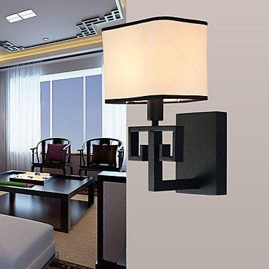 Appliques de lumière ambiante 40W AC220V E14/Lodge rustique de Pays