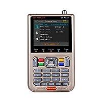 جهاز محدد إشارة التليفزيوني Docooler V8 Finder Meter DVB-S/S2/S2X عداد رقمي عالي الدقة بطارية 1080P 3000 مللي أمبير في الساعة