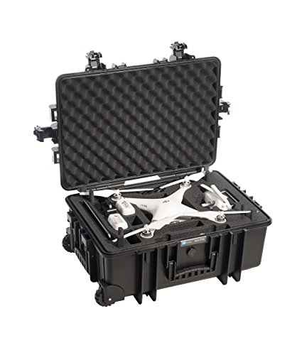 Best B&W outdoor.cases type 6700 with DJI Phantom 3 Standard / 3 Advanced / 3 Professional Inlay – The Original Review