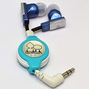 Digi4u Retractable Stereo Earbud Earphone Headphone For Iphone Samsung Htc
