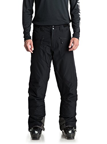 Quiksilver Snow Hose (Quiksilver Boundry - Snow Pants for Men - Snow-Hose - Männer - L - Schwarz)
