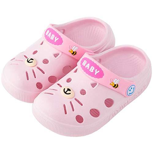 Clogs Mädchen Kinder Gartenschuhe Jungen Pantoletten Wasserschuhe Baby Sandalen Rutschfeste Badeschuhe Latschen Hausschuhe Sommer Slippers