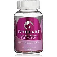 IvyBears Haar Vitamine vollgepackt mit Biotin, Folsäure, Haarvitamine und Mineralstoffen