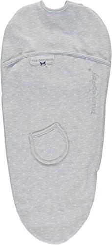 Puckababy® PIEP - Pucksack Baby mit Bauchband - 0/3 M | Grey Dotty | Pucksäcke | Swaddle