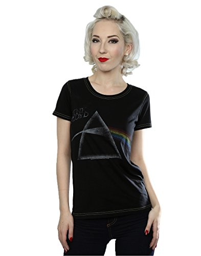 Aftershow Femme Pink Floyd Prism T-Shirt Vintage Noir