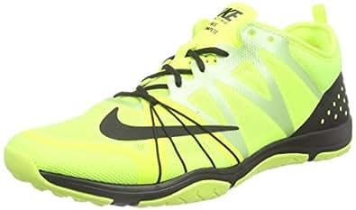 Nike  Free Cross Compete, Chaussures de fitness femmes - Jaune - Gelb (Volt/Black), Taille 40