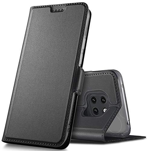 Jandy Cover (GeeMai Huawei Mate 20 Pro Hülle, Premium Leder Hülle Flip Case Tasche Cover Hüllen mit Magnetverschluss Standfunktion Schutzhülle handyhüllen für Huawei Mate20 Pro Dual-SIM Phone)