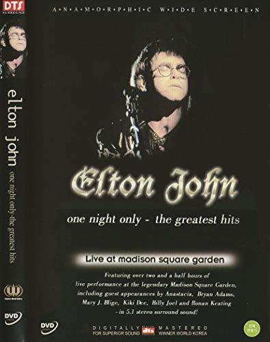 Elton John-One Night Only, The Greatest Hits (Import, NTSC, All Region)