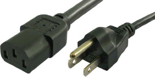 Lynn Electronics C13515P10AJ-6F NEMA 5-15P auf IEC 60320-C13 10A/125V 18AWG/3C SJT Netzkabel, 1,8 m, 3 Stück - 15 Pdu Kabel