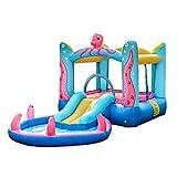 WJSW Hüpfburgen Sport Spielzeug Spielzeug Indoor Kinder kleine Trampoline Kinder Wasserpark Home Kinderspielplatz Kinderspielzaun Kinder große aufblasbare Spielzeuge