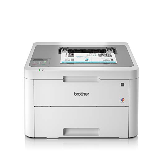 Brother HL-L3210CW Imprimante Laser |Couleur 18 ppm | silencieuse 45db |Connexion Ethernet |Wi-FI |18ppm|256Mo | Inclus 1 000 Pages de Toner