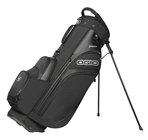Ogio 2018pression Sac de golf avec support, Homme, 125066_03, Noir, Carry