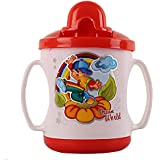 Krishnam Presents Baby Cute Stylish Bpa Free Unbreakable Sippy Cup (Sipper Kids Mug) Hard Spout Infant PP Water/Juice Training Gravity Sipper Cup With Handles & Dust Free With Handel