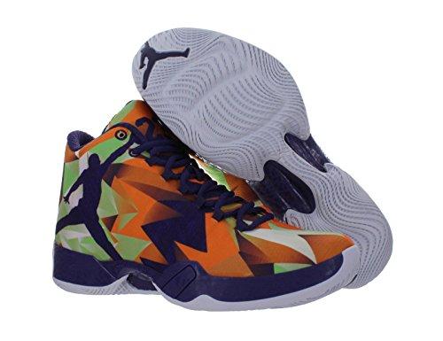 nike air jordan XX9 scarpe sportive da basket alte da uomo 695515 scarpe da tennis BRIGHT MNDRN/INK-WHITE-LT PSN GREEN