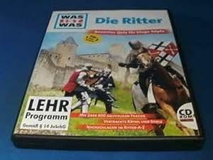 Was ist was Quiz 1: Die Ritter. CD-ROM für Windows 95/98/MacOS 7.5.3. 600 Fragen. Vertrackte Rätsel. Viele Spiele.