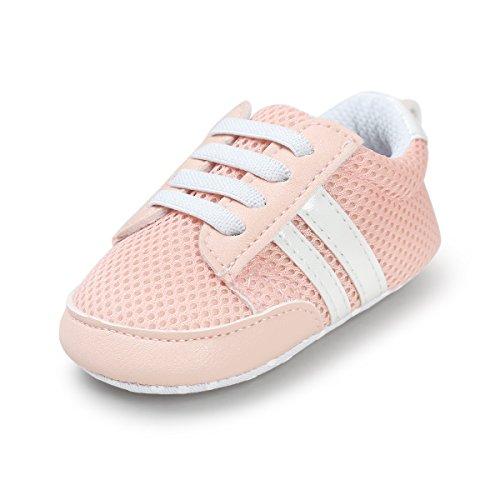 Sabe Unisex Baby Weiche Streifen-beiläufige Wanderschuhe Sportschuhe Flügelstern Rutschfester Sohle Kleinkind Schuhe