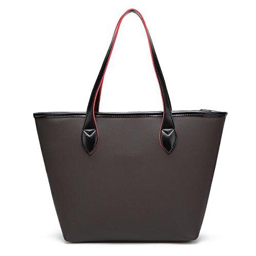 Nuova Borsa Della Locomotiva Della Signora Simple Bag Di Temperamento Messenger Semplice Della Spalla Big Bag Donna,Blue Purple