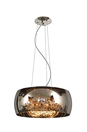 Lucide 70463/40/11 Pearl Suspension Diamètre: 40 cm 5 x G9 28 W