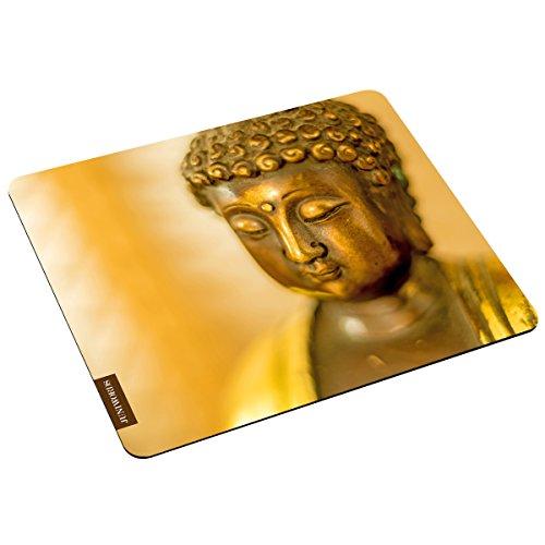 """Preisvergleich Produktbild Wandkings Mousepad / Mauspad mit Motiv """"Buddha"""" - Design wählbar - ideales Geschenk zum Geburtstag, Weihnachten u.v.m."""
