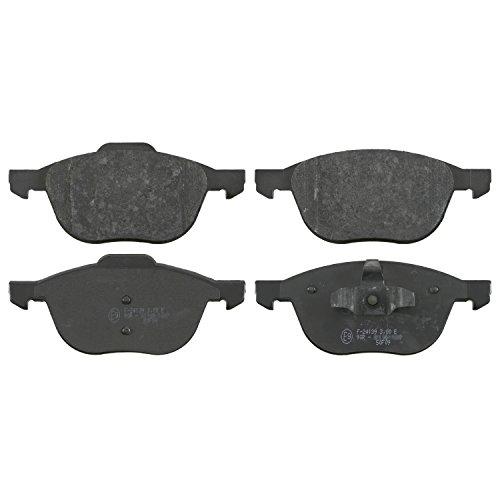 Preisvergleich Produktbild febi bilstein 16479 Bremsbelagsatz (vorne,  4 Bremsbeläge),  ohne Verschleißwarnkontakt