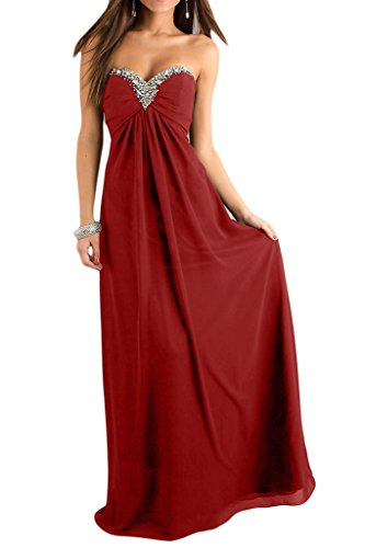 Missdressy - Robe - Trapèze - Femme Rouge vif
