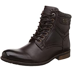 Alberto Torresi Men's Anvik Brown Boots - 8 UK/India (42 EU)