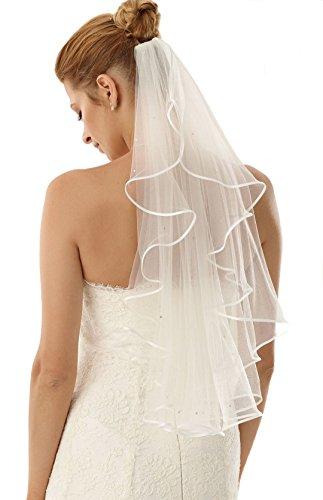 Velo de novia Universal, se adapta a casi todos los Vestidos de novia