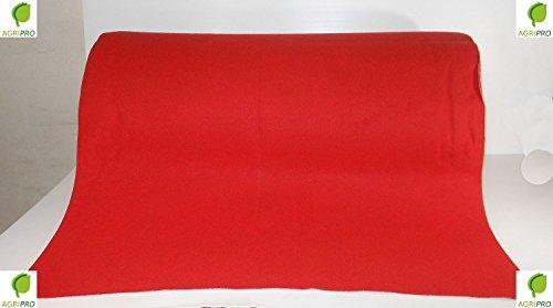 Passatoia rossa natalizia tappeto rosso mt 1 x 4 natale chiesa matrimonio negozio