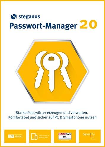 Steganos Passwort-Manager 20 | 5 Gerät | PC | PC Aktivierungscode per Email