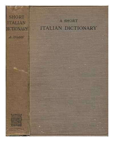 A Short Italian Dictionary