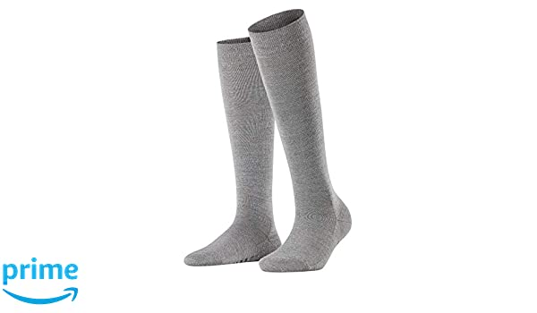 Light Grey Mel. 3830 35//36 FALKE Softmerino Chaussettes Femme NA Gris Taille fabricant: 35-36
