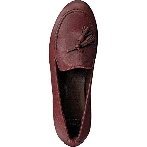 Mally 4189 Damen Leder Slipper Mokkassins Italy Red