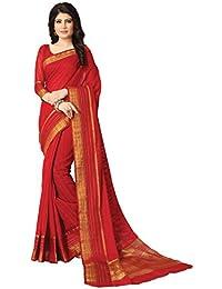 Venisa Women's Handloom Cotton Saree