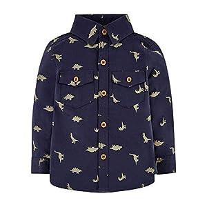 Mothercare MB St Nvy AOP Dino Shirt LS Camiseta para Bebés 10