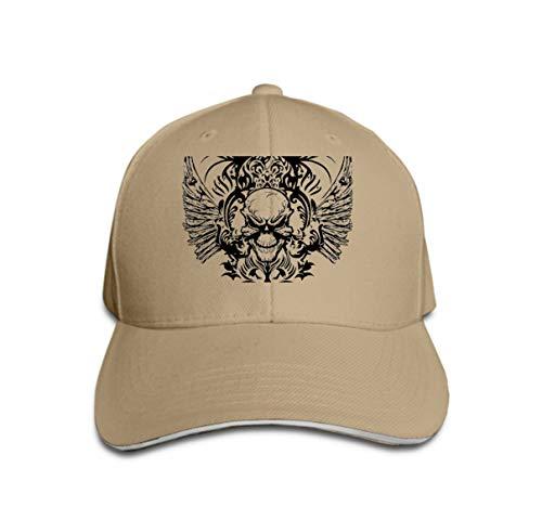 Kostüm Danger Girl - Hip Hop Baseball Cap Hat for Boys Girls Skull Design Logos Bones Mark Danger Warning super