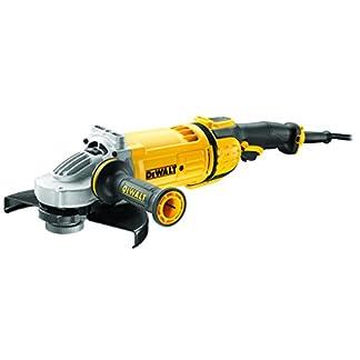 Dewalt DWE4579-QS Amoladora, 2600 W, 230 V, Negro y amarillo