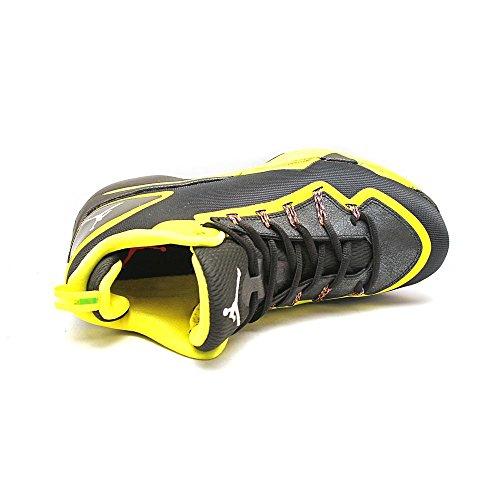Nike Jordan Superfly 2 (120) Black/White/Vibrant Yellow/Infrared