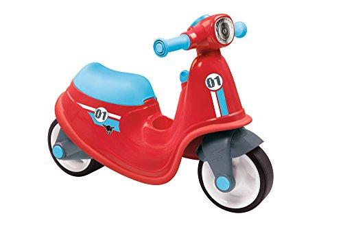BIG 800056375 - Classic-Scooter Kinderfahrzeug, rot (Motorrad Kinder)