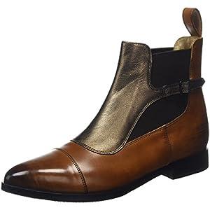 MELVIN & HAMILTON Jessy 10 Chelsea Boots, Braun